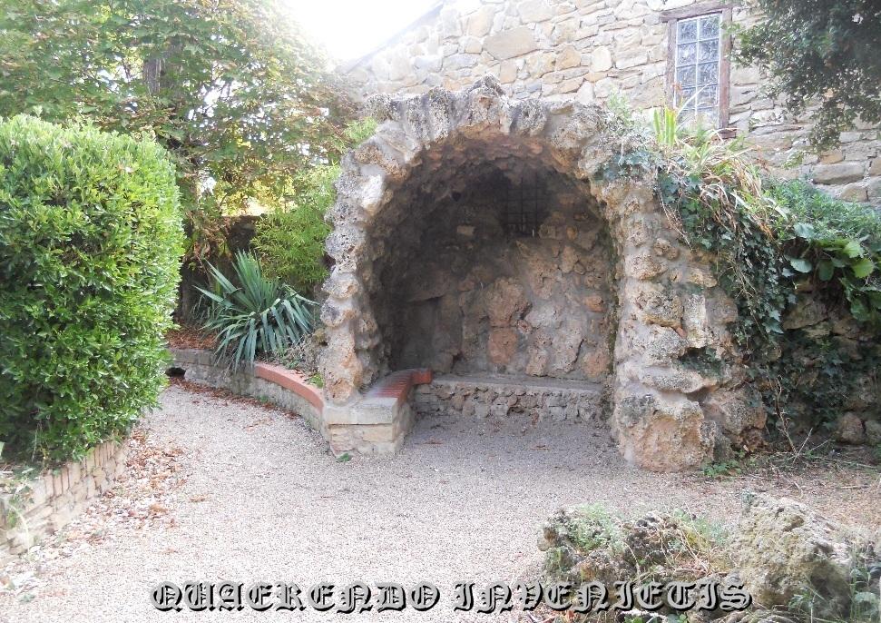 Apendice i la inscripci n de la gruta de piedra for Grutas para jardines pequenos