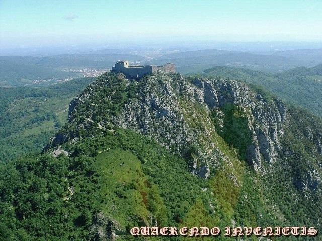 CASTILLOS CATAROS, la cruzada Albigense